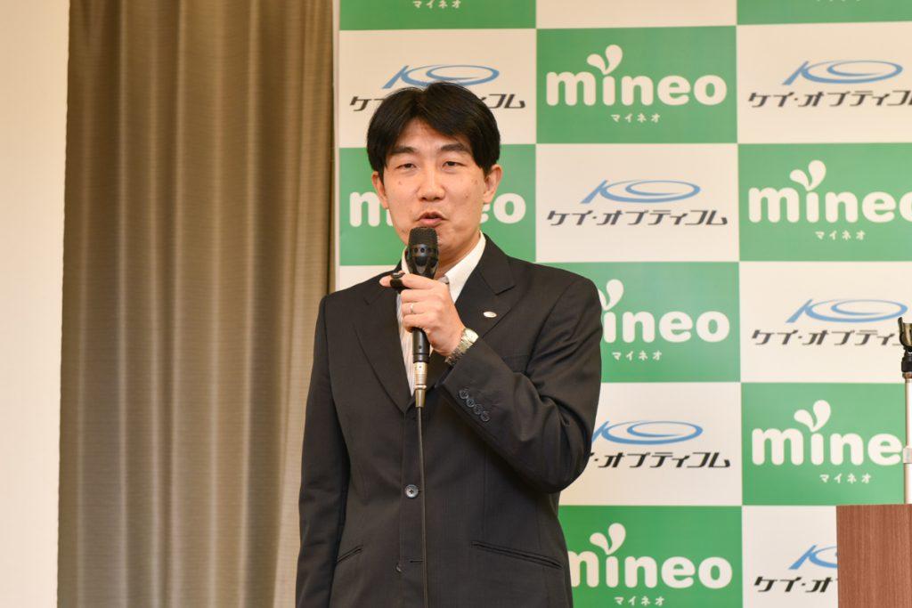 上田晃穂・ケイ・オプティコム経営本部モバイル事業戦略グループ グループマネージャー