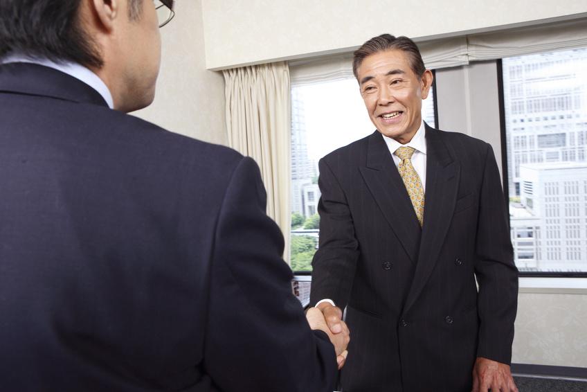 会議がうまく進んだイメージの画像