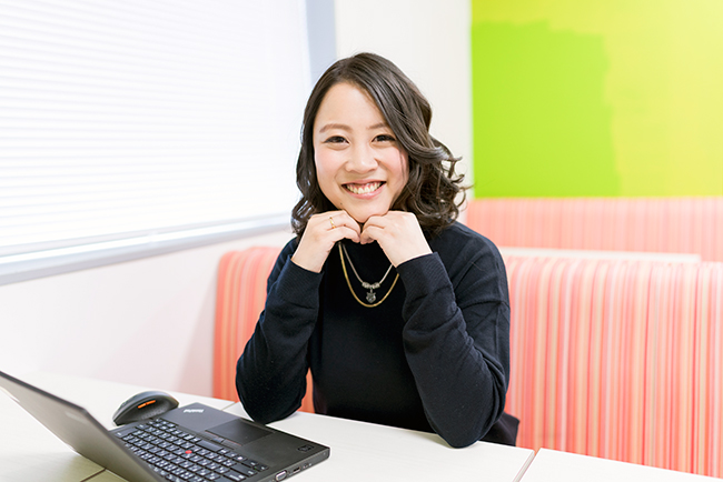 ARアドバンストテクノロジ 経営管理部 情報システムグループ 千須和瞳さん
