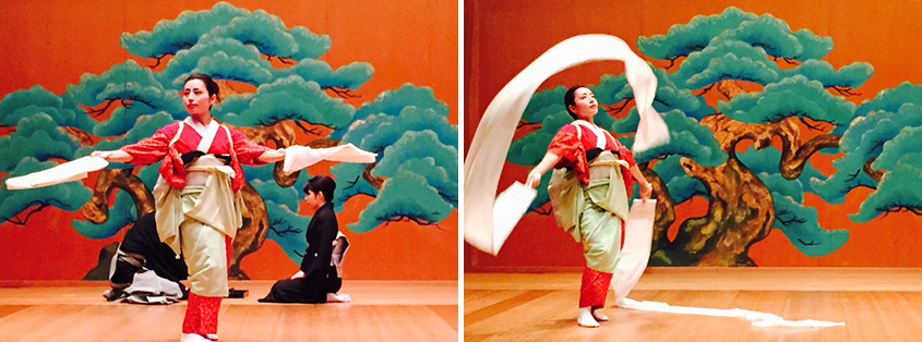 「近江のお兼」を演じる岩田さんの画像