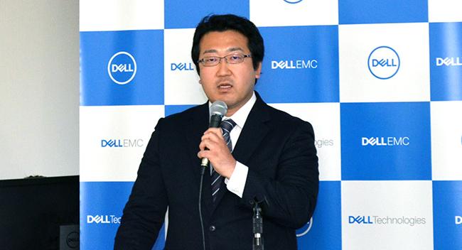 木村佳博・インフラストラクチャ・ソリューションズ事業本部 広域営業部 部長