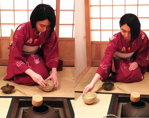 日本文化を伝えたいと始めた茶道 日本文化が凝縮されているといいます