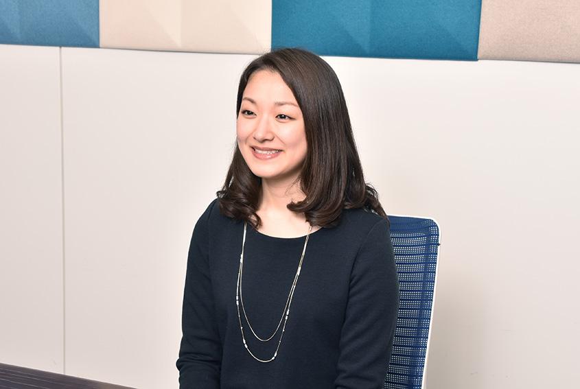 株式会社VSN 情報通信第二本部 エンタープライズ事業部 東原 彩芳さん