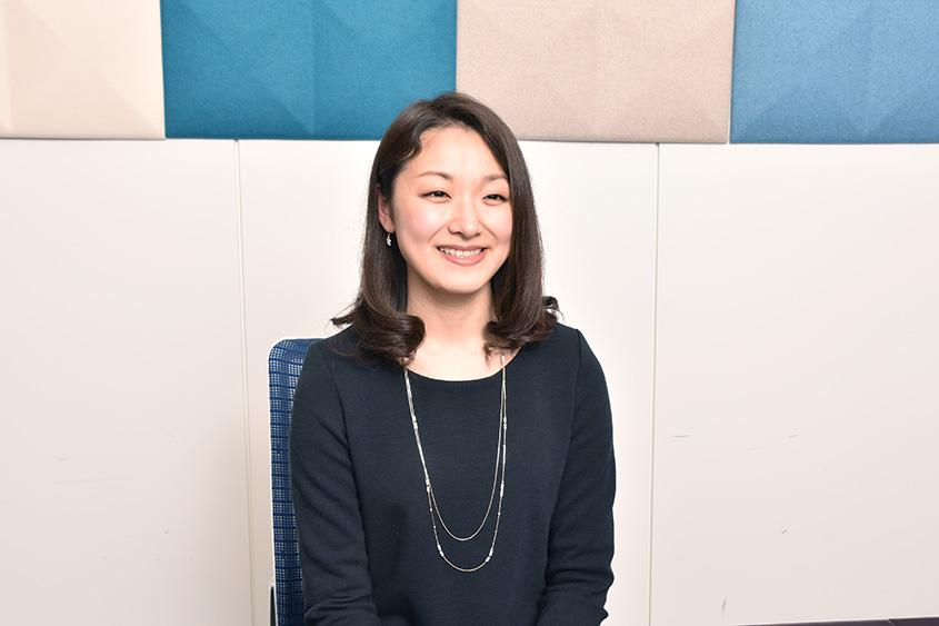株式会社VSN 情報通信第二本部 エンタープライズ事業部 東原 彩芳さんの画像