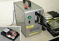 卓上型電子記録メディア破壊(物理破壊)DB-6の画像