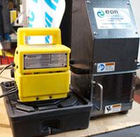 カナダのEDR社(現在は米国)で油圧ポンプを利用の画像