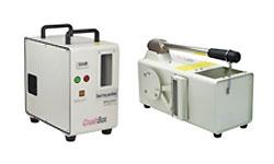 本格的なデータ消去複合機(磁気消去・物理破壊)DDB-60HB、DB50PORO(電動)、HDB-20Vの画像