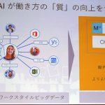 """日本マイクロソフト、Office 365で「働き方改革」 AIを活用し業務時間見直しの""""気付き""""に"""