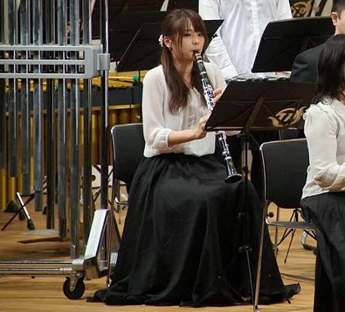 生涯の趣味として音楽を楽しむ吹奏楽団に所属する宮腰さん。写真は演奏会の様子