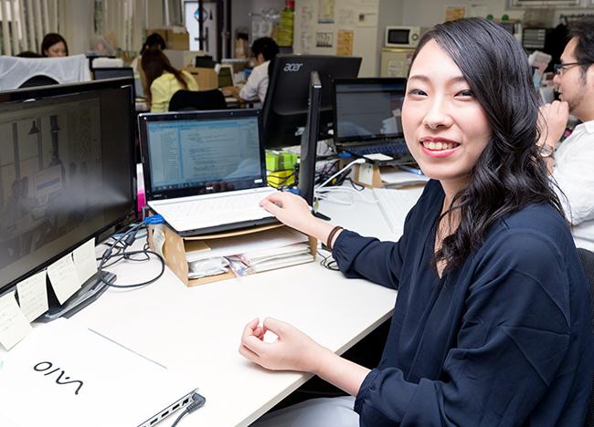 トライブ 情報システム部 佐藤淑子さん