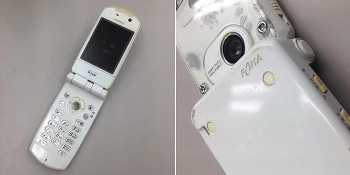 2005年発売のPanasonic社製のP901iというガラケーの画像