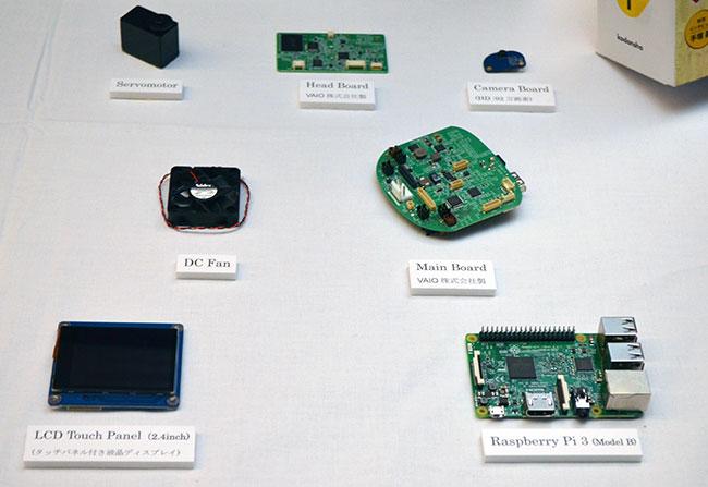 ATOMに搭載されているメインボードやCPUボード