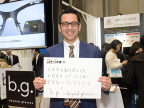 『第2回 ウェアラブルEXPO』レポート 「視力4.0のメガネをつくりたい!」 株式会社メガネスーパー