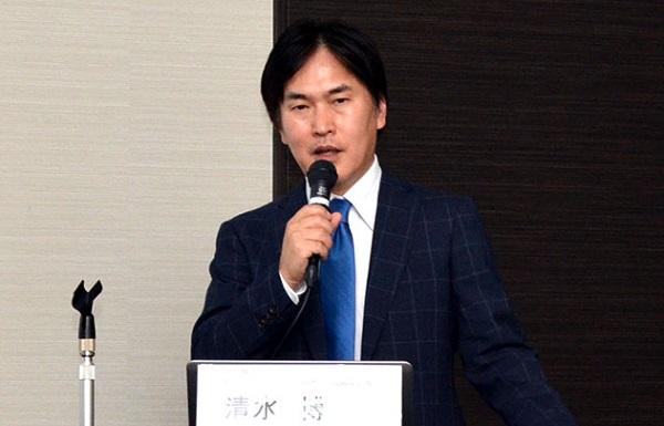 清水博・執行役員 広域営業統括本部長