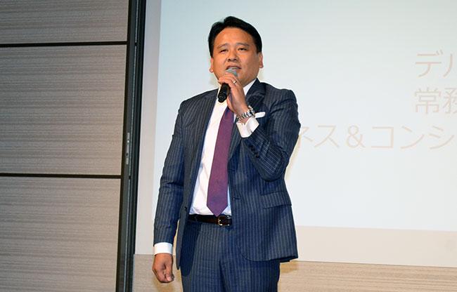 渡邊義成・常務執行役員 ビジネス&コンシューマー事業統括本部長