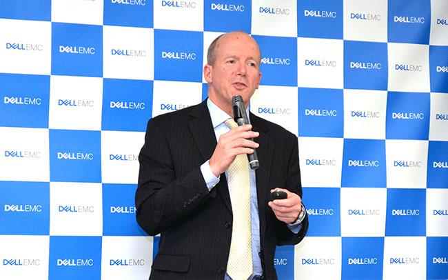 チャールズ・セヴィア・Dell EMC APJ アンストラクチャード ストレージ事業部CTO