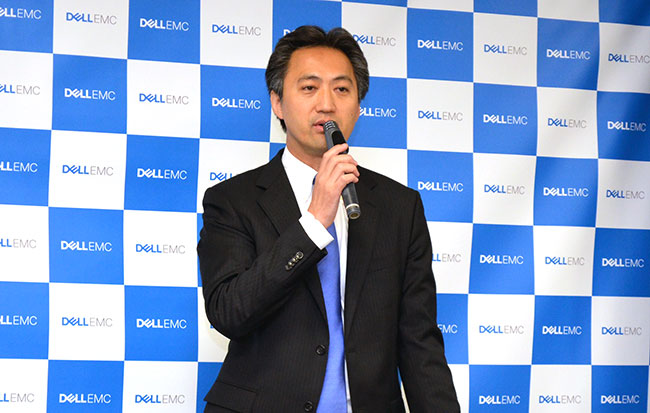 倉橋秀則・EMCジャパン 執行役員 アイシロン事業本部長