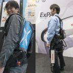 【ロボデックス】高齢化社会をサポートする補助ロボット イノフィス、東芝