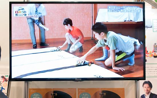 ロボット教室の紹介映像