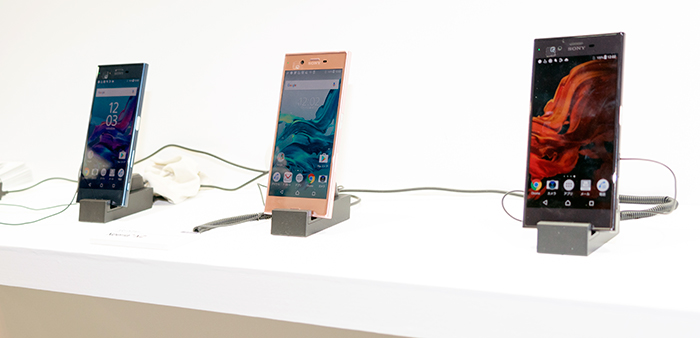 ソニーモバイルの最新スマートフォン「Xperia XZ」