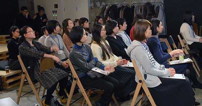 31人の情シス女子が出席した「情シス女子会」