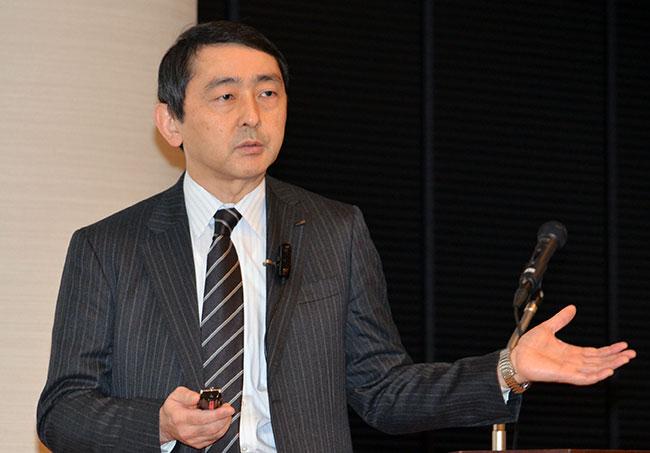 松永彰・技術開発本部シニアディレクター
