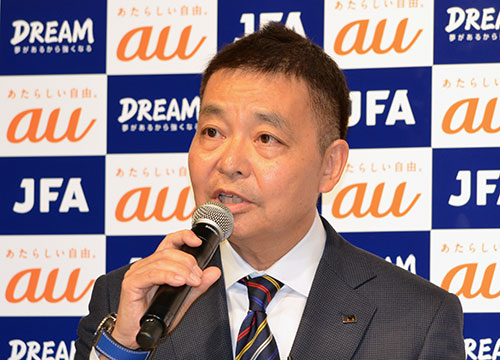 岩上和道・日本サッカー協会 事務総長