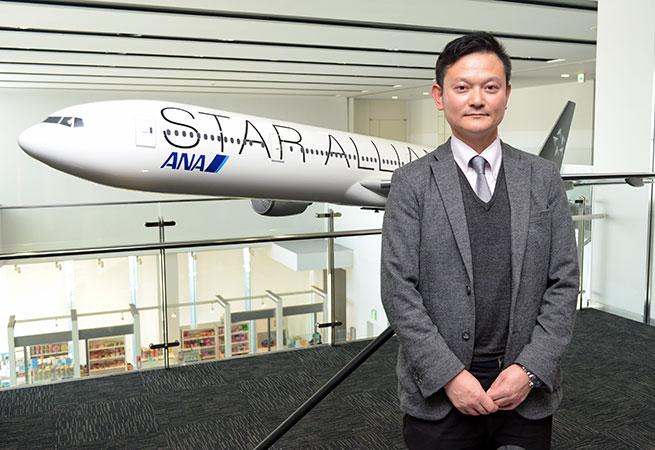 ANA成田エアポートサービス 総務部 総務課 葉梨広氏
