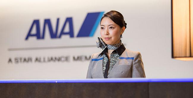 旅客ハンドリング事業のイメージ(ANA成田エアポートサービス提供)