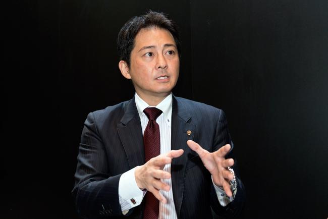 山田勝基・IM事業部ロボットビシネス部 ロボット営業グループリーダー