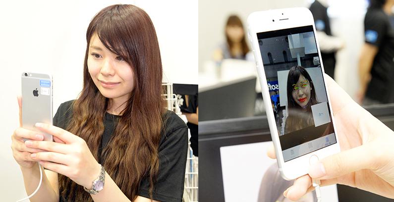 スマホのカメラを向けてもらうだけで利用者の感情が読み取れる。