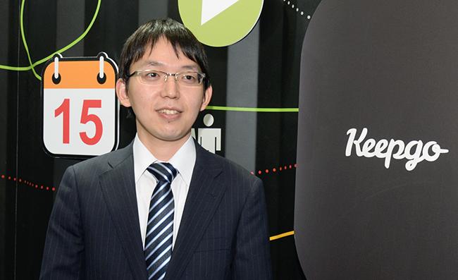 エクスコムグローバル 社長室 新規事業開発 笠原康弘氏