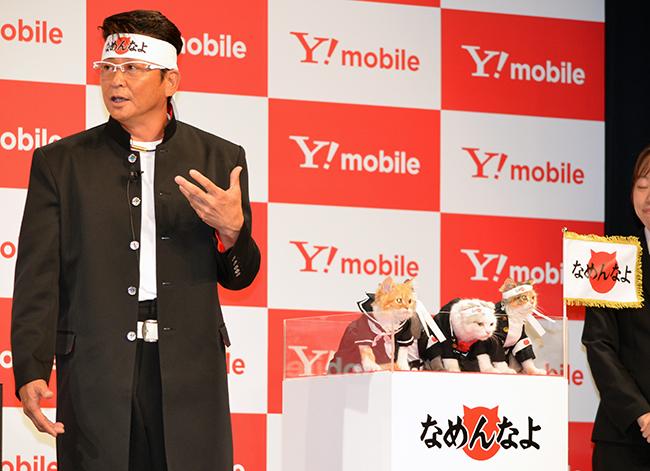 哀川さんが新CMで声を担当する「なめ猫」も登場
